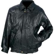 Mens Leather Jacket 3X