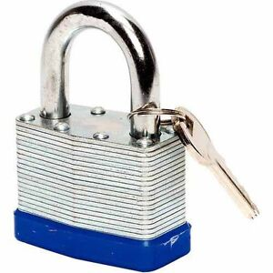 50mm Waterproof Weatherproof Heavy Duty Steel Shackle Outdoor Padlock Lock