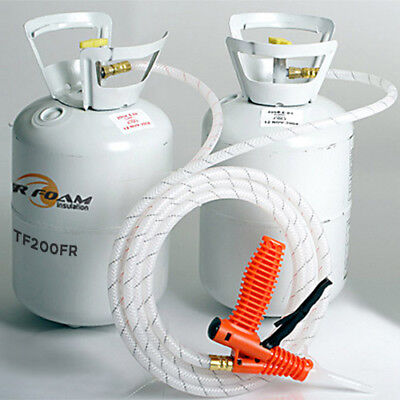 Tiger Foam 200bdft Closed Cell E-84 Spray Foam Insulation Kit - Free Shipping