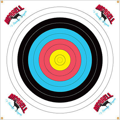 Archery Southland Archery Supply Sas 10-ring Paper Target Face Matching In Colour Targets