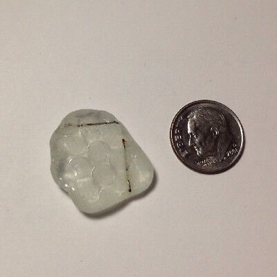 "GENUINE surf-tumbled Beach Sea Glass, HAWAII, Industrial ""Safety Glass"" Hobnail"