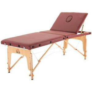Brand New @ WWW.BETEL.CA || Premium Wooden Portable Massage & Physiotherapy Table || We Deliver FREE!!