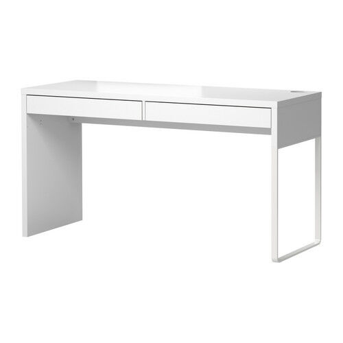 ikea micke white desk table computer workstation modern for home office ikea d