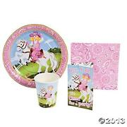 Horse Party Plates