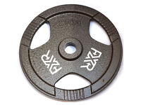 "20KG 2"" 50MM HOLE TRI GRIP IRON OLYMPIC WEIGHT PLATES"