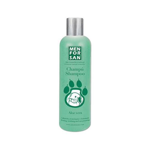 Shampoo natürliche MENFORSAN 300ml beruhigende und Heilung aloe vera für