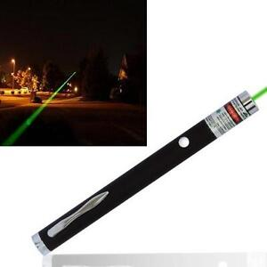 Powerful 1mW Green Beam LED Laser Lazer Pointer Pen