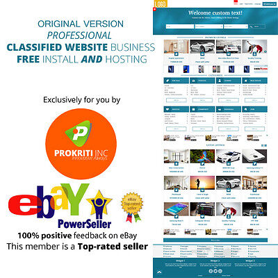 Original Professional Classified Website Business Free Install