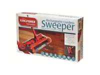 CARPET SWEEPER RECHARGEABLE CORDLESS