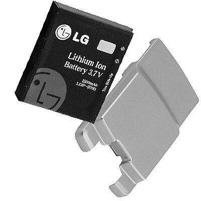 Original Extended Battery Door - Original LG Extended Battery + Door Cover (Silver Color) for Verizon LG VX8700
