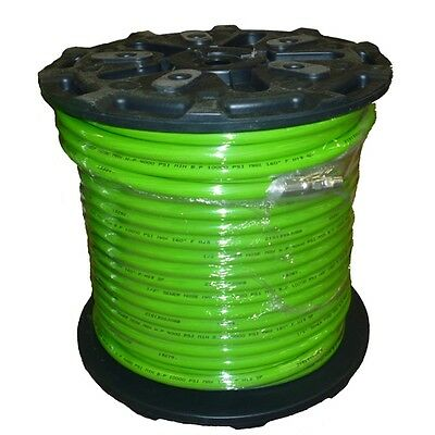12 X 400 Sewer Jetter Hose 4000 Psi Green Solxswv