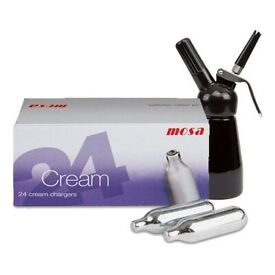 MOSA CREAM CHARGERS £10 PER BOX (DELIVERY & COLLECTION)