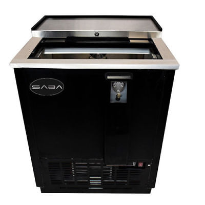 Saba 25 Commercial Bottle Cooler Refrigerator Beer Bottle Cooler
