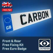Carbon Fibre Number Plate