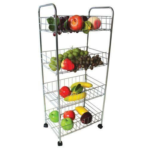 Metal Vegetable Rack Ebay
