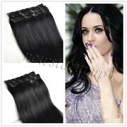 Clip in Human Hair Extensions 120g