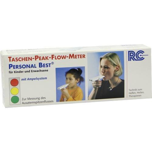 PEAK FLOW Tasche für Kinder+Erwachsene 1 St
