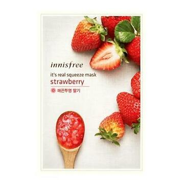 Innisfree It'S Real Squeeze Mask Strawberry 20ml.
