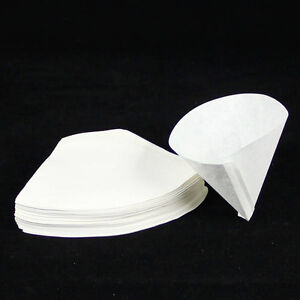 100 x American expresso cup Coffee makers filter paper fit 2-4 cups HJ195