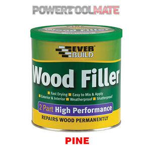 everbuild 2 part high performance wood filler pine. Black Bedroom Furniture Sets. Home Design Ideas