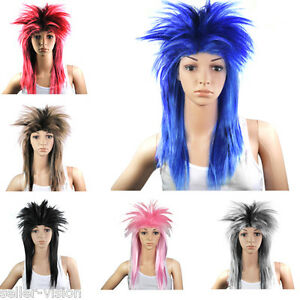 80s-Ladies-Glam-Punk-Rock-Rocker-Chick-Tina-Turner-Wig-Fancy-Dress-Party-Costume
