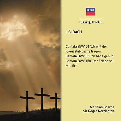 Matthias Goerne  Sir   Js Bach  Cantata Bwv 82 Cantata Bwv 35 Sinfonia  New Cd