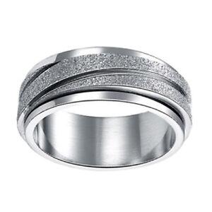 Womens Fidget Spinner Ring
