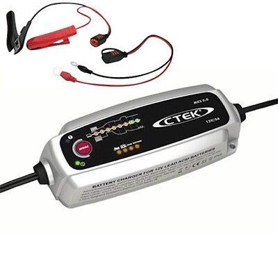 5a Batterie-ladegerät (CTEK MXS 5.0 Batterie Ladegerät Batterieladegerät 12V 5A für Auto Motorrad PKW)