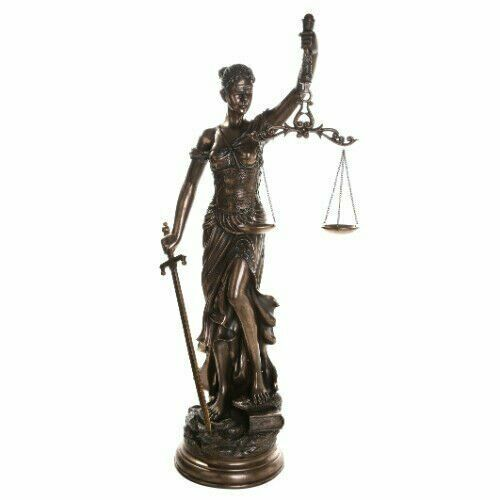 Pacific Giftware Large 48 Inch Lady Justice Scales of Justice La Justitia Statu