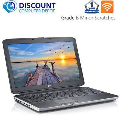 """Dell Laptop Latitude 15.6"""" Windows 10 Pro Core i5 8GB 512GB SSD Wifi PC Computer"""