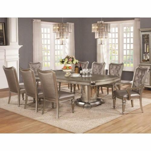 Stunning Exclusive 7 Piece Dining Room Set With Leaf