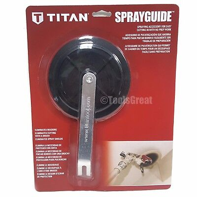 Genuine Titan Cutting Shield Spray Guide Wheel Replacement 0538749 0538902