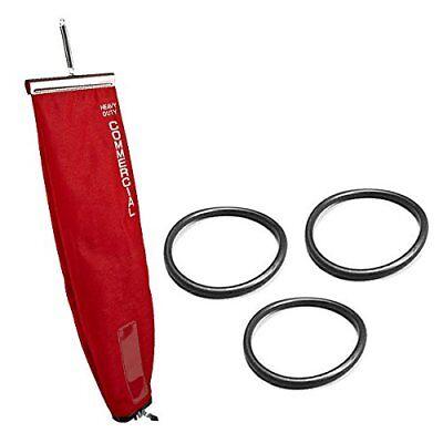 Eureka Sanitaire 450, 30563B Red Vacuum Outer Cloth Bag W/ 3pk Round Belts