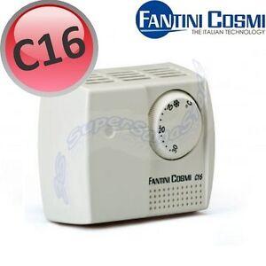 3s termostato ambiente a rotella c16 fantini e cosmi for Fantini cosmi c16