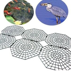 Pond guard pest deterrent fish protector floating cover for Fish pond protection