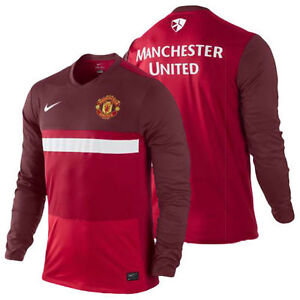 authentic nike manchester united training top men 39 s size. Black Bedroom Furniture Sets. Home Design Ideas
