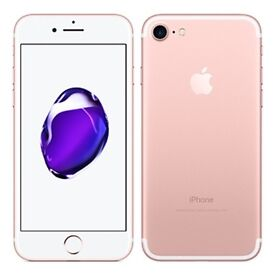 iPhone 7 rose gold 256gb NEW!!!!