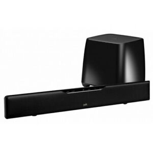 Polk Audio Soundbar With Bluetooth And Wireless Subwoofer