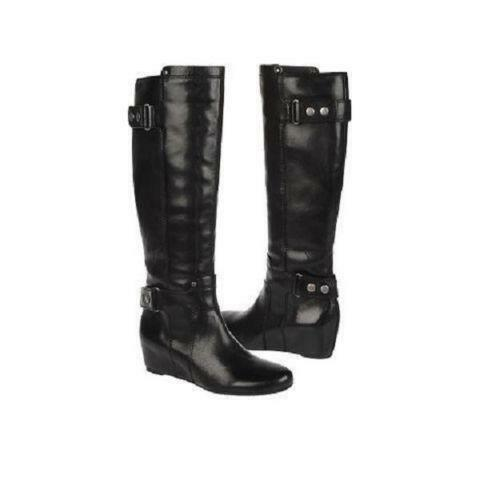 Leather Wedge Boots | eBay
