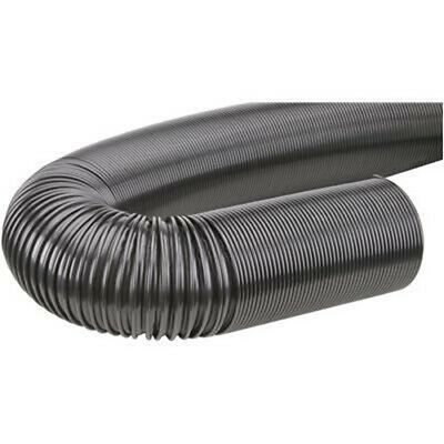 20 4 Black Dust Collection Hose For Dust Collector Collecter