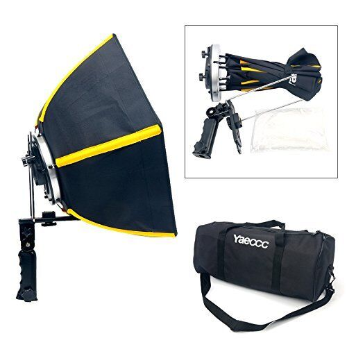 "20""50cm Collapsible Hexagonal Softbox with Hand Grip for Speedlight Studio Flash"
