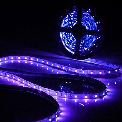 5M 3528 SMD UV Schwarzlicht LED Streifen Stripe - Lila Halloween Lichter