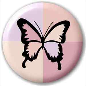 NEW-LAPEL-PIN-BUTTON-BADGE-Patchwork-Butterfly