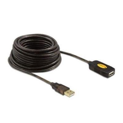 Cable alargador DELOCK 82446 USB 2.0 10 m Activo