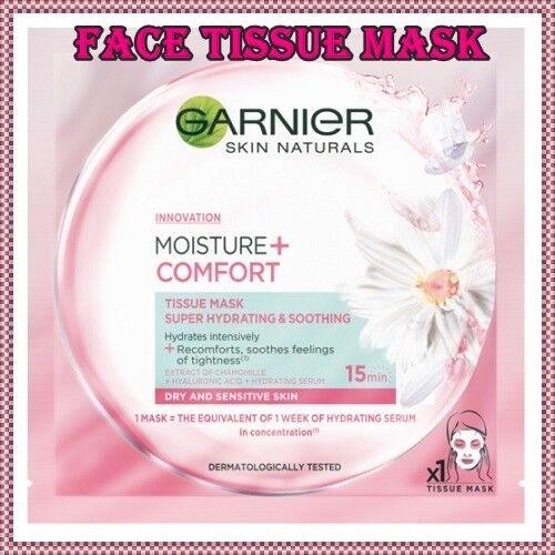 Garnier Hydra Bomb Moisture+ Comfort Face Mask for Dry & Sen