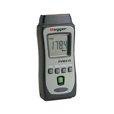Megger Pvm210 1002-548 Irradiance Meter 1999 Wm2 3 34 Digit Lcd