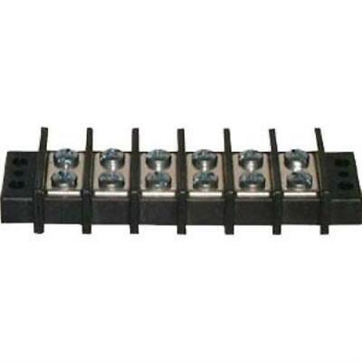 Philmore 13-1706 6 Position Dual Row Terminal Block Barrier Strip 75a 600v