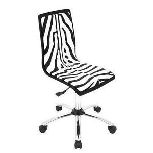 Zebra puter Chairs