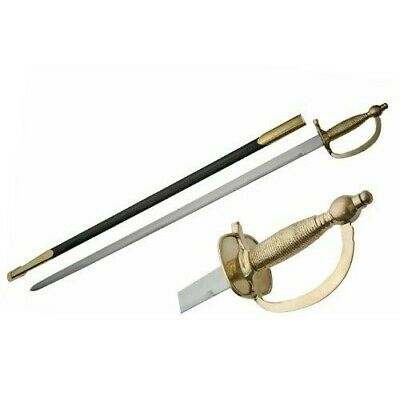 Model 1840 United States Army NCO Sword with Leather Scabbard