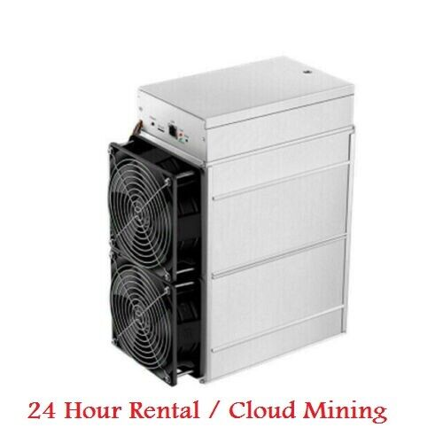 24 Hour Cloud Mining Rental Lease AntMiner S9SE 16-18TH//s ASIC SHA 256 Bitcoin